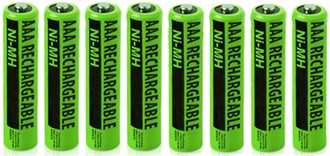 VTech nimh aaa batteries 8 pack