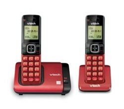 VTech 2 Handsets Wall Phones   CS6719 16 plus  1  CS6709 16