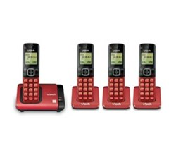 VTech 4 Handsets Wall Phones   CS6719 16 plus  3  CS6709 16