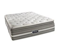 Simmons Beautyrest King Size Luxury Plush Pillow Top Comfort Mattress Only Smyrna King UPPT Mattress
