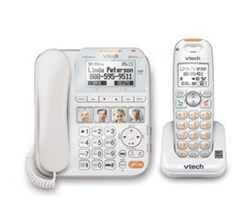2 Handsets Phones with an Answering Machine sn6147
