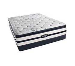 Simmons Beautyrest King Size Luxury Firm Pillow Top Comfort Mattress and Box Spring Sets N Hanover King LFPT Low Pro Set N