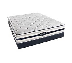 Simmons Beautyrest Queen Size Luxury Plush Comfort Mattress and Box Spring Sets simmons fair lawn queen pl low pro set