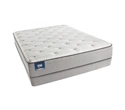 Simmons Beautyrest Twin XL Size Soft Pillow Tops  Simmons BeautySleep Cadosia Twin XL Size Plush Euro Top Mattress