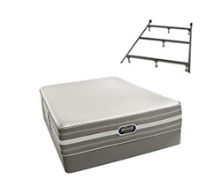 Simmons Beautyrest Full Size Luxury Extra Firm Comfort Mattress and Box Spring Sets With Frame Port Huron