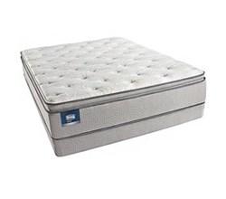 Simmons Beautyrest Twin XL Size Pillow Tops  Simmons BeautySleep Chickering Twin XL Size Plush Pillow Top Mattress
