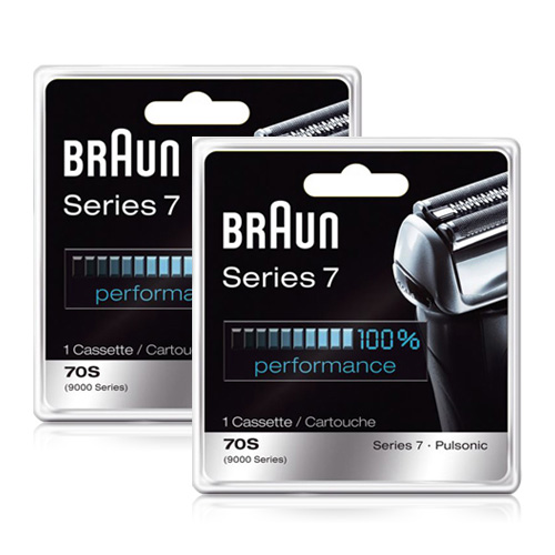 Braun 2 Pack Braun Prosonic Series Shavers Replacement Foil & Cutter 9000CP / 70s at Sears.com