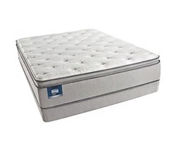 Simmons Beautyrest Full Size Luxury Plush Pillow Top Comfort Mattress and Box Spring Sets simmons chickering full ppt low pro set