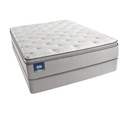 Simmons Beautyrest Queen Size Luxury Plush Pillow Top Comfort Mattress and Box Spring Sets simmons chickering queen ppt low pro set