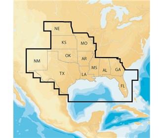 navionics regions south preloaded msd format