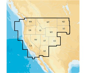 navionics regions west preloaded msd format