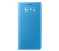 Blue Cases samsung led cover note7