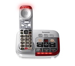 DECT 6.0 Cordless Phones Talking Caller ID panasonic kx tgm450s