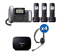 Panasonic 2 Line Corded Phones panasonic kx tg9583b