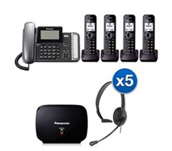 Panasonic 2 Line Corded Phones panasonic kx tg9584b