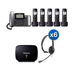 Panasonic 2 Line Corded Phones panasonic kx tg9585b