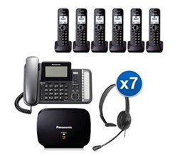 Panasonic Corded Phones panasonic kx tg9586b