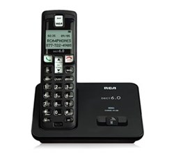 General Electric RCA DECT 6 Cordless Phones rca 21011 bkga
