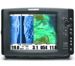 Humminbird GPS FishFinders humminbird 1198 c si hd