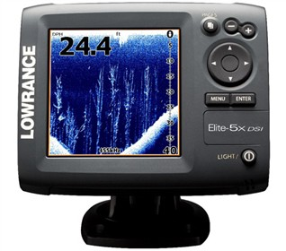 lowrance elite 5x dsi color w transom mt transducer. Black Bedroom Furniture Sets. Home Design Ideas