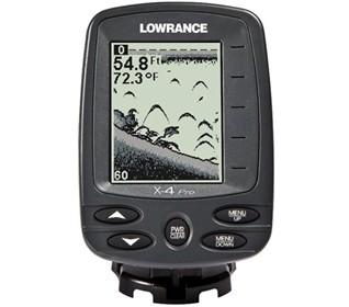 lowrance x 4 pro fishfinder
