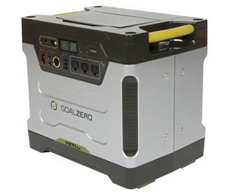 Yeti 1250 Solar Generator w Roll Cart