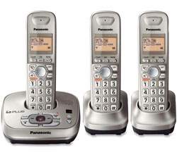 Panasonic DECT 6 0 3 Handsets panasonic kx tg4023n