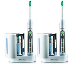 Dual Handle Toothbrushes sonicare flexcare plus hx6972 2