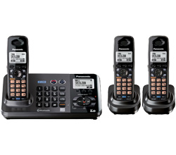 Panasonic 2 Line Cordless Phones panasonic kx tg 9382 t 1 kx tga 939