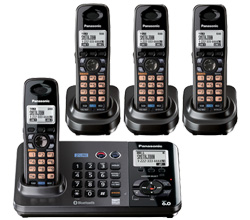 Panasonic 2 Line Cordless Phones panasonic kx tg 9382 t 2 kx tga 939
