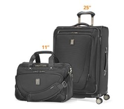 Travelpro Luggage Sets travelpro crew11 25 spinner deluxe tote