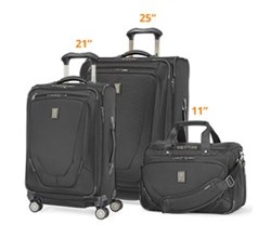 Travelpro 3 Piece Sets travelpro crew11 21 25 spinner deluxe tote