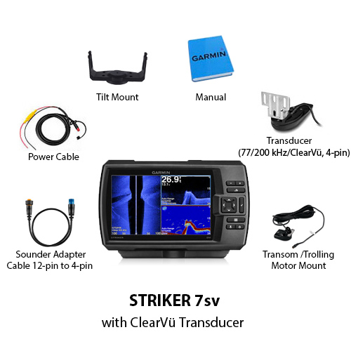 Garmin Striker 7sv Us With Transducer