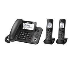 Panasonic Corded Cordless Phones panasonic kx tg572sk