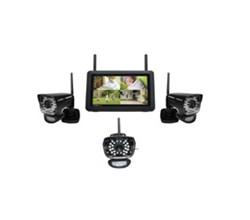 Uniden Video Surveillance 3 Camera Systems uniden udr780h 3 cameras