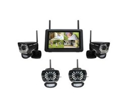 Uniden Video Surveillance 4  Camera Systems uniden udr780hd 4 cameras