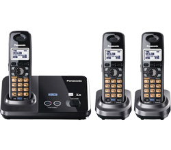 Panasonic 2 Line Cordless Phones panasonic kx tg 9322 t tga 939 t