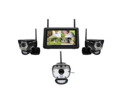 Uniden 3 Camera Video Surveillance Touch Screen Systems uniden udr780hd 3 cameras