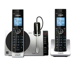2 Handsets Phones with an Answering Machine ntechds6771 3