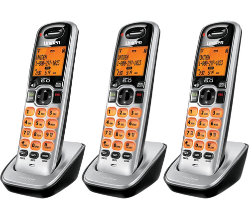 Uniden DCX160-3 DECT 6.0 Compact Cordless Phone w/ Caller ID at Sears.com