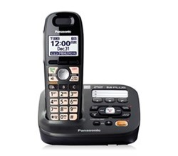 DECT 6.0 Cordless Phones Talking Caller ID panasonic kx tg6591t