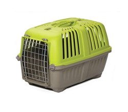 Travel Carriers midwest 19 inch spree plastic pet carrier green