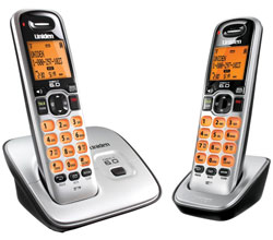 Two Handset Phones uniden d1660 2