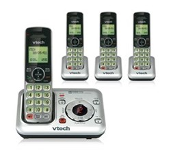 4 Handsets Phones with an Answering Machine   VTech cs6429 4