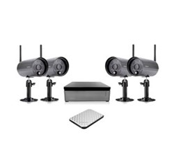 Uniden Video Surveillance 4  Camera Systems uniden UNID WDVR4 2 with 1 TB Hard Disk