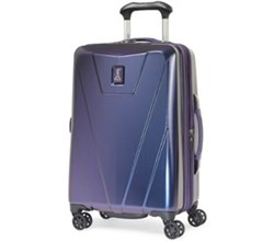 Travelpro 20 25 Inch Carry On Luggage travelpro maxlite 4 hardside 21 Inch dark purple