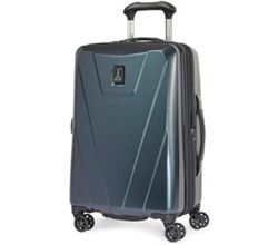 Travelpro 20 25 Inch Carry On Luggage travelpro maxlite 4 hardside 25 Inch black green