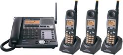 Panasonic 58GHz Cordless Phones panasonic kxtg 4500 b 2 tga 450 b