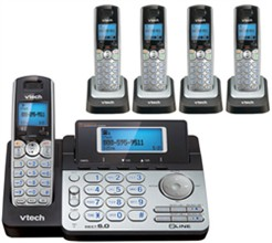 VTech DECT 6.0 Cordless Phones ds6151 4 ds6101