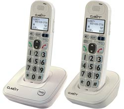 Clarity Two handsets clarity d704c bundle